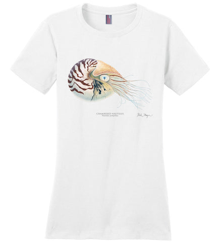 Chambered Nautilus Women's Tee