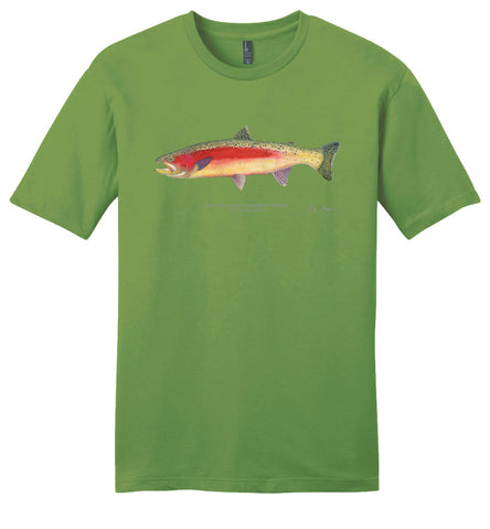 New Zealand Rainbow Trout Casual Tee