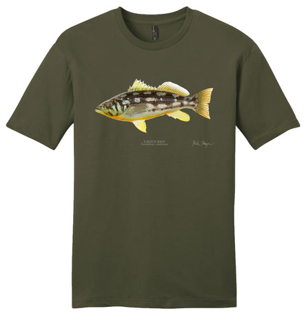 Calico Bass Casual Tee