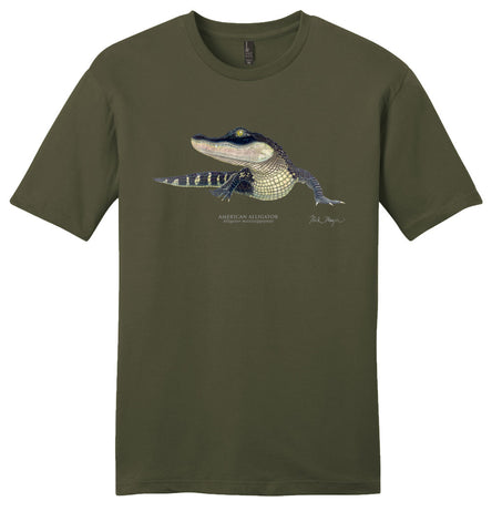 American Alligator Casual Tee