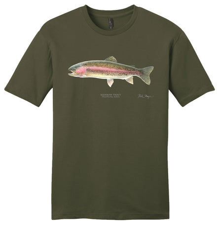 Rainbow Trout Casual Tee