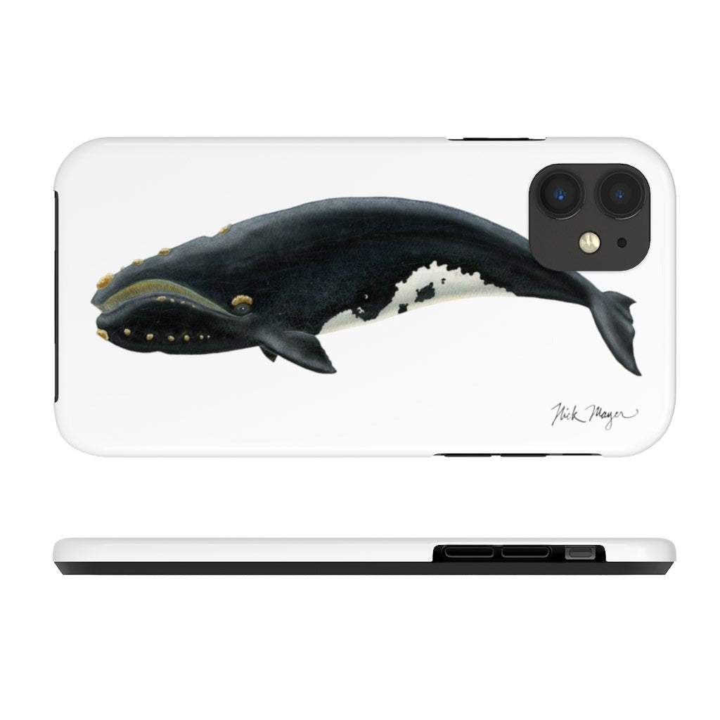 Right Whale Tough Phone Case