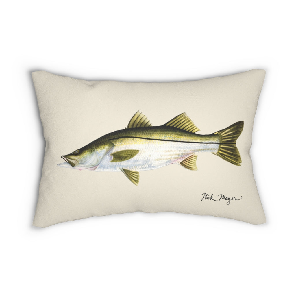 Snook Throw Pillow
