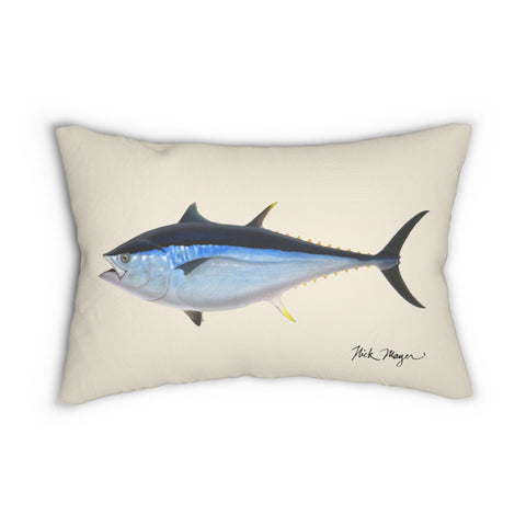 Giant Bluefin Tuna Throw Pillow