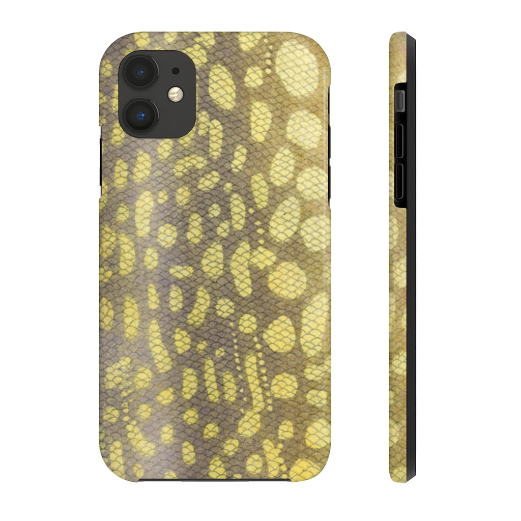 Northern Pike Skin Tough Phone Case