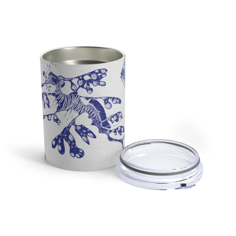 Ocean Stamps, 10 oz Steel Tumbler