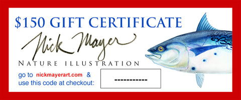 Gift Certificates $25-$500