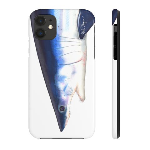 Mako Shark Face Phone Case (iPhone 5-11)