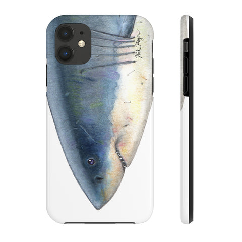 Great White Shark Face Phone Case (iPhone 5-11)