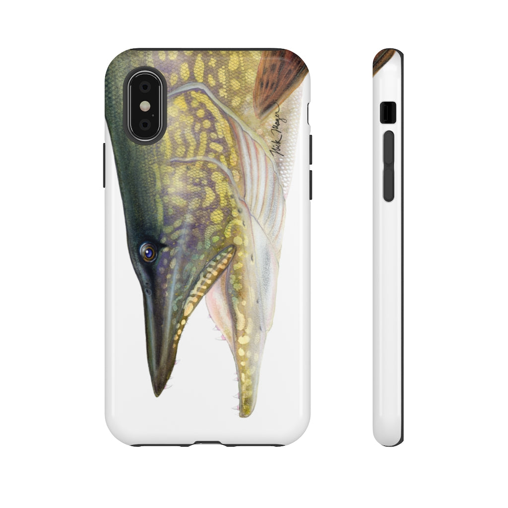Northern Pike Face Phone Case (iPhone 12 & Samsung Models)
