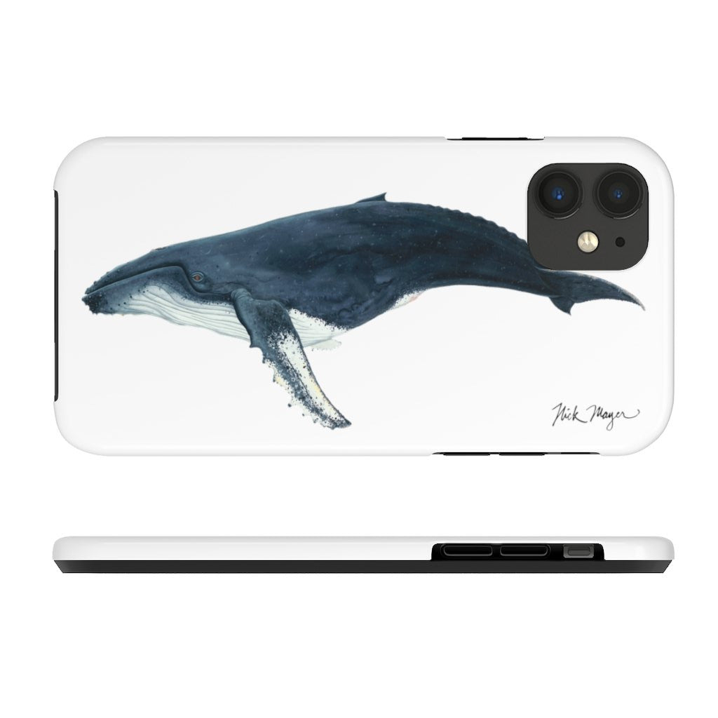 Humpback Whale Tough Phone Case