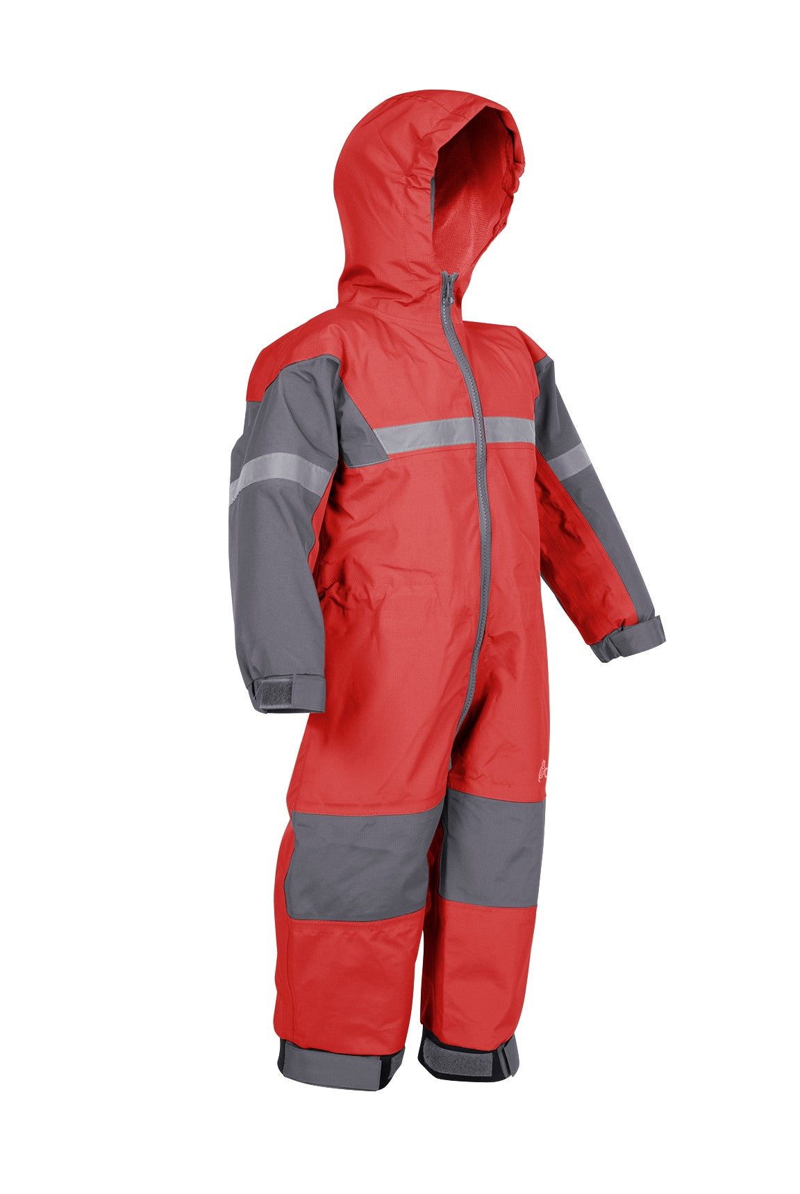 Fiery Red Trail One Piece Rain Suit