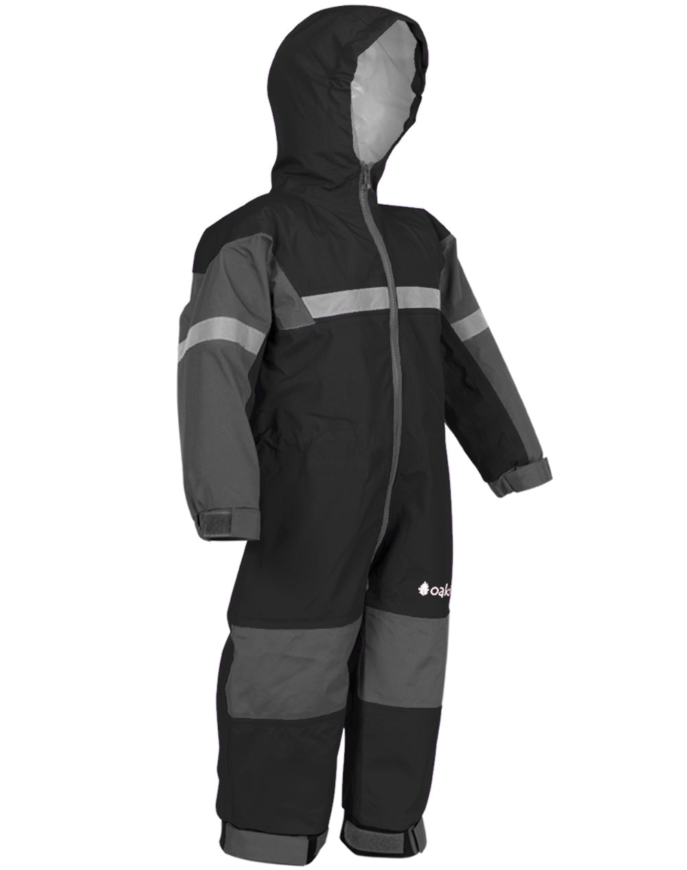 Black Trail One Piece Rain Suit