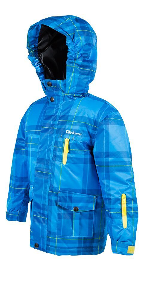 Yellow & Blue Ski Coat