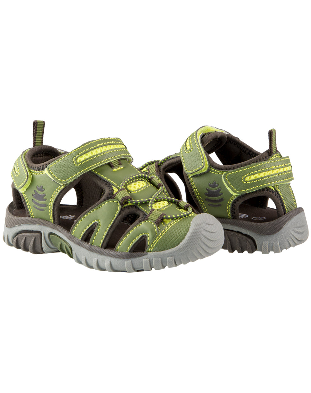 Moss Green Rock Creek Sandals