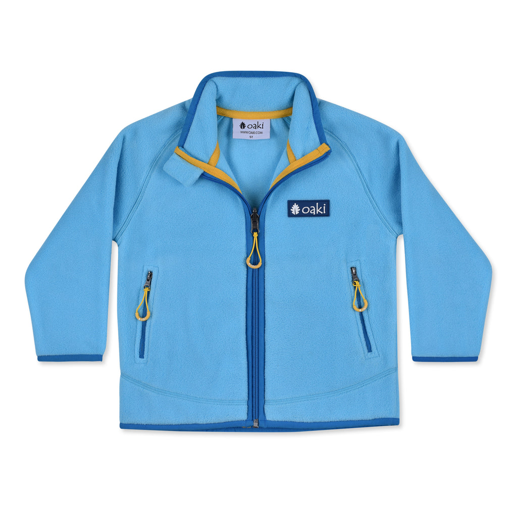 300 Series Polartec® Fleece Jacket, Blue/Gold  (Sizing Runs Small, Recommend Sizing Up)