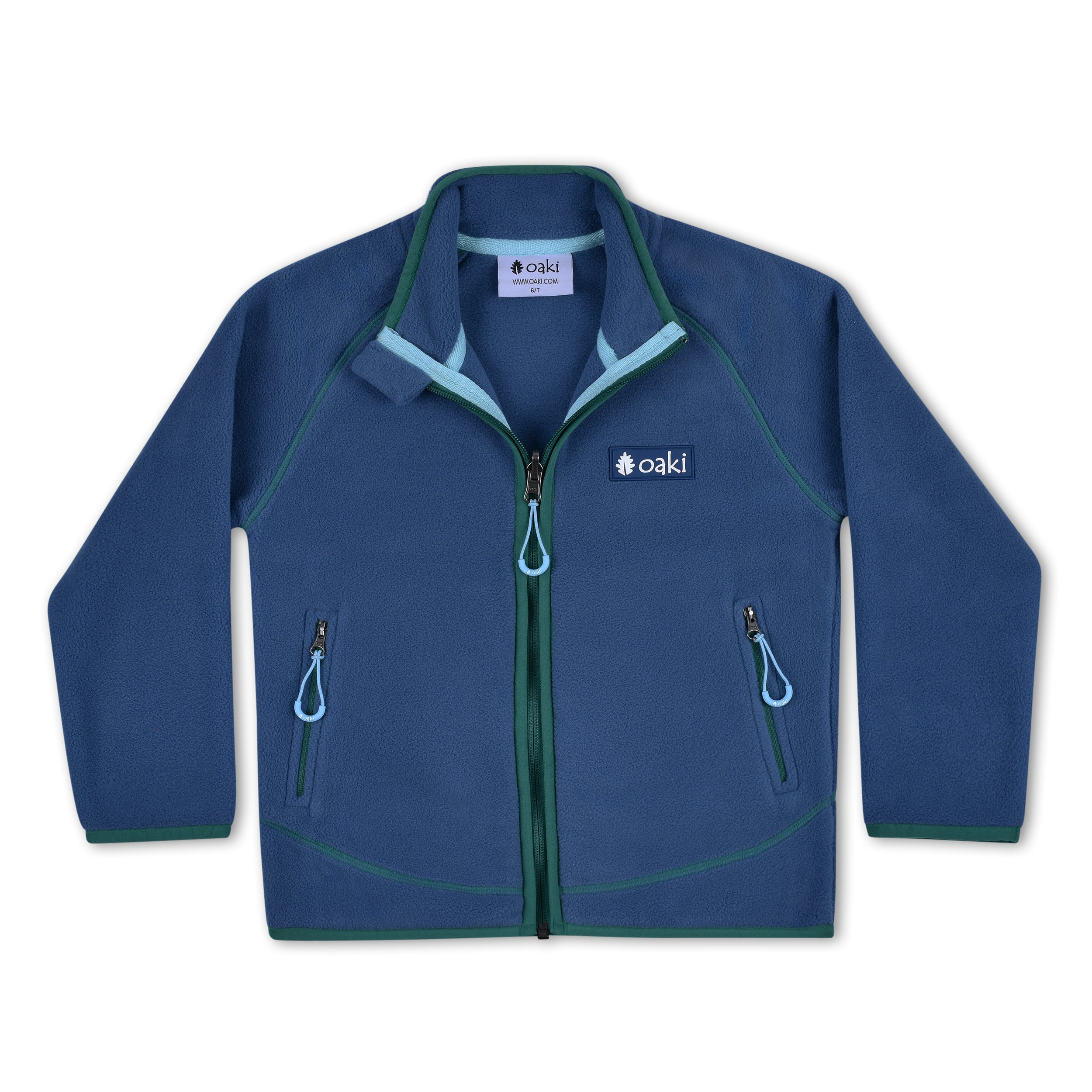 200 Series Polartec® Fleece Jacket, Navy/Green  (Sizing runs small, recommend sizing up)