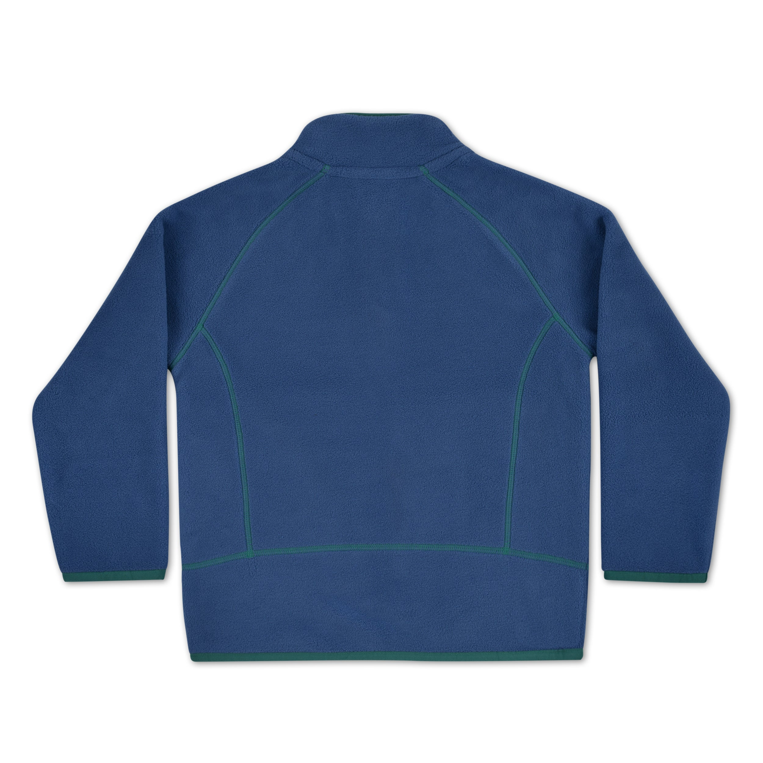 Premium Polartec® Fleece Jacket Navy/Green by OAKI (Pre-Order)