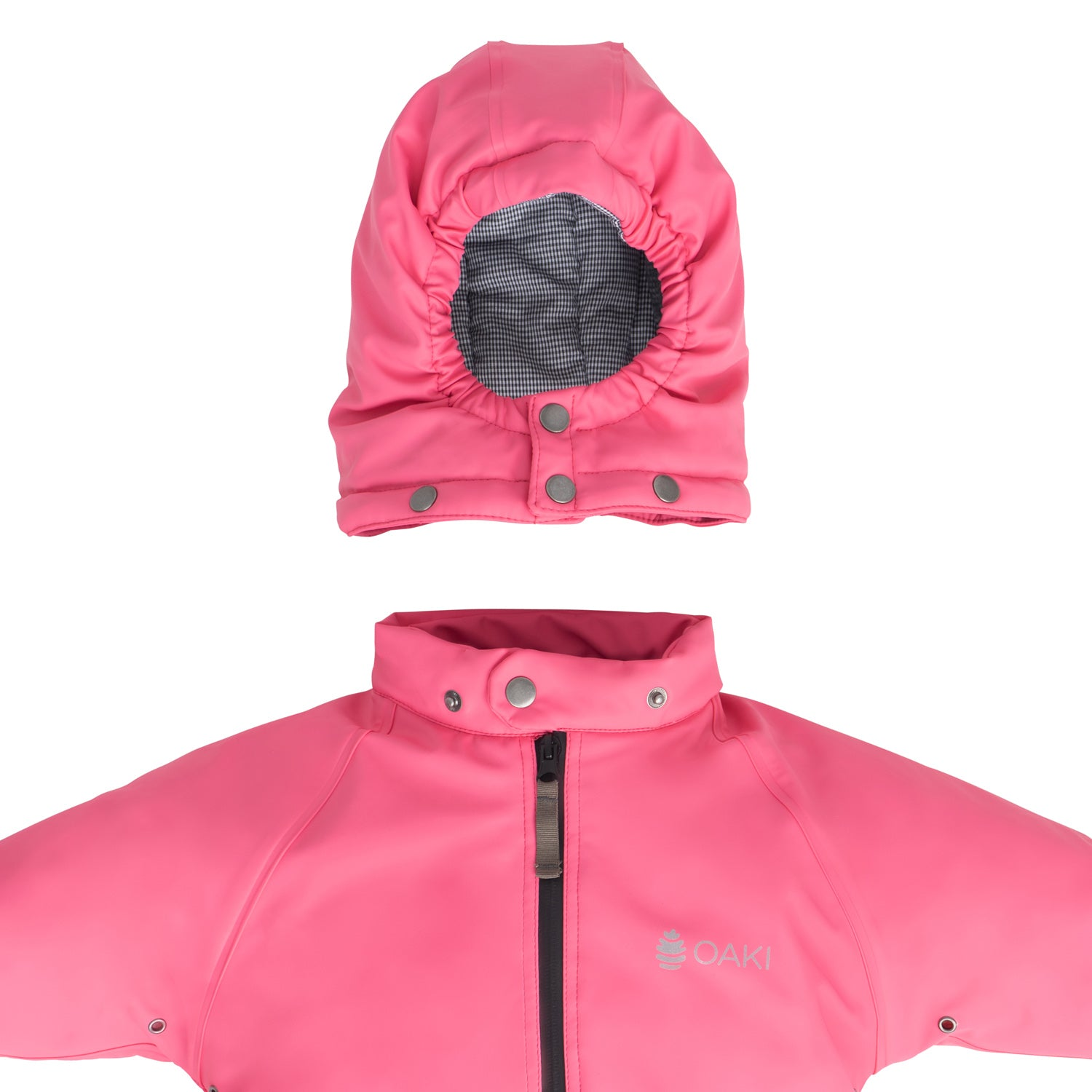OAKI Snow Suit - Kids/Toddler Snowsuit - Park City Pink