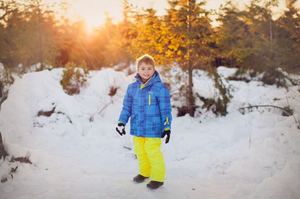 Yellow & Blue Snow Pants/Bibs
