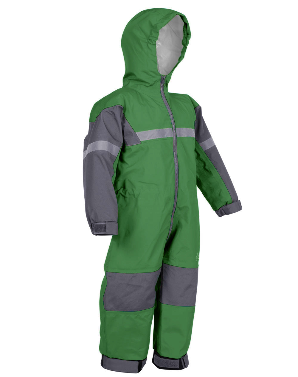Forest Green Trail One Piece Rain Suit