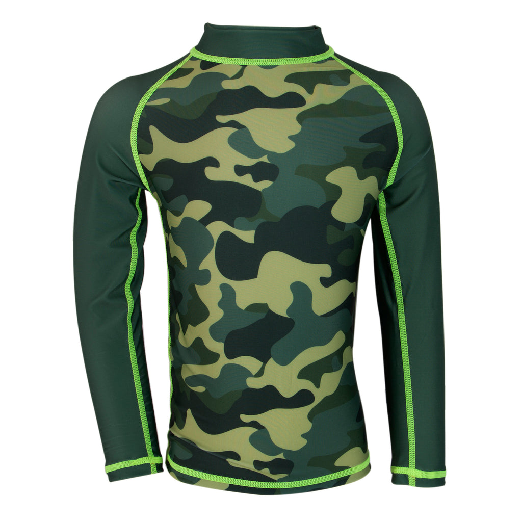 Camo Splash Rash Guard