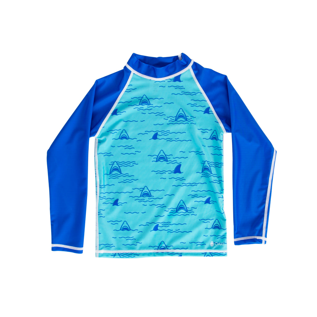 Chomp-Chomp Shark Rash Guard