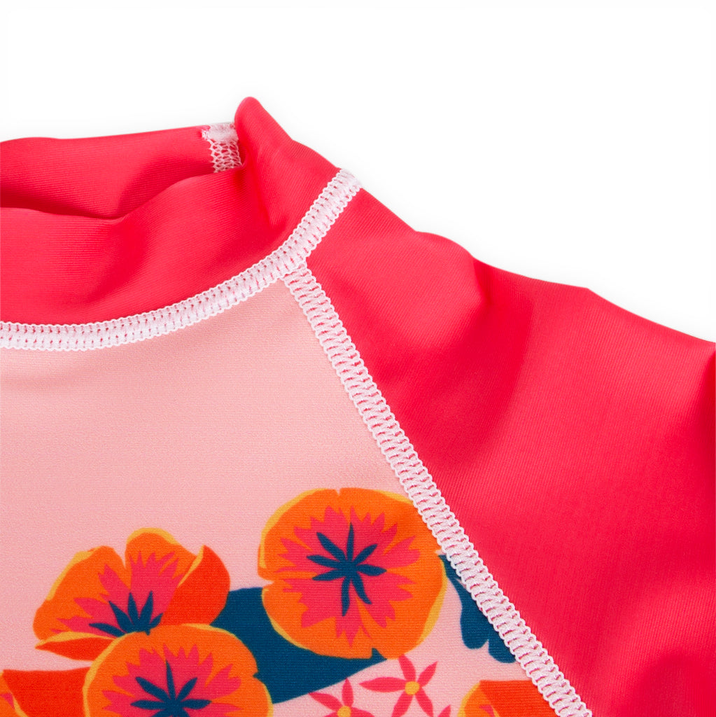Flower Shower Rash Guard