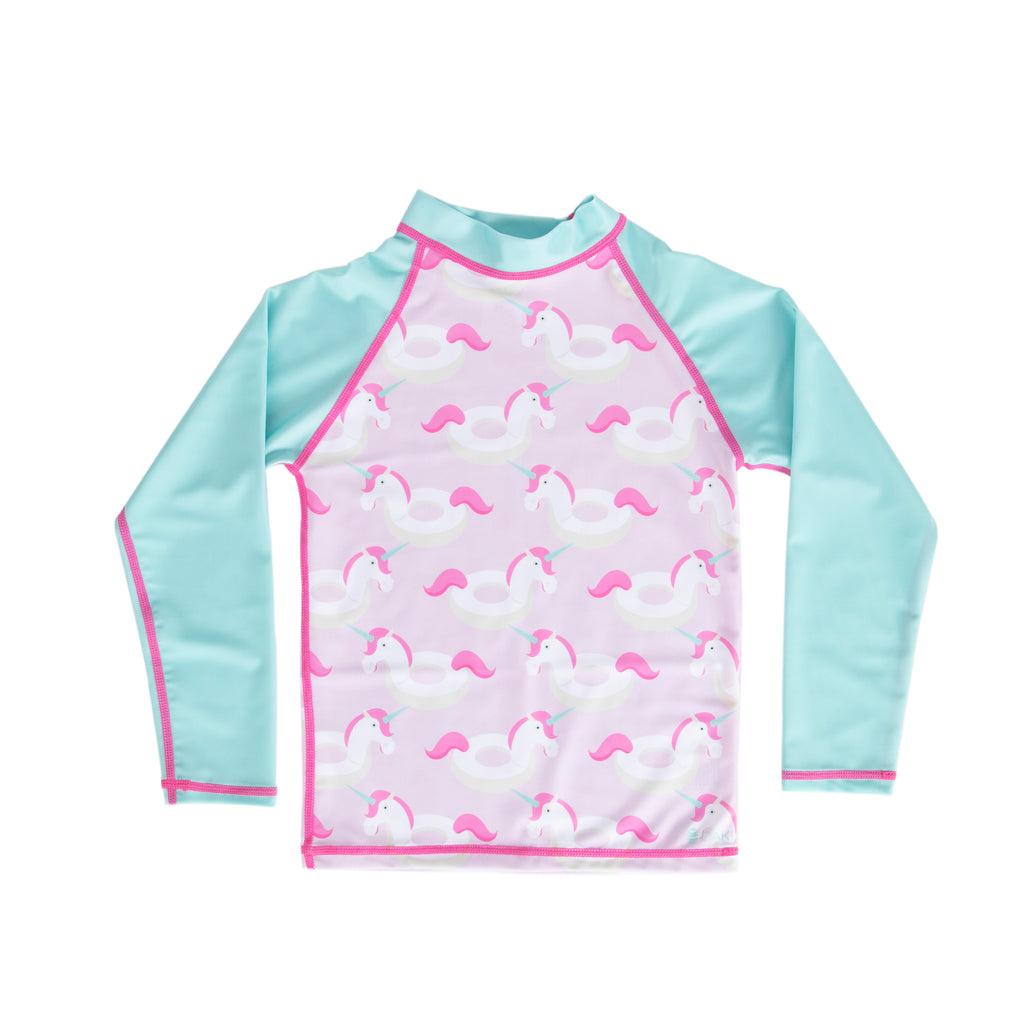 Unicorn Shore Rash Guard