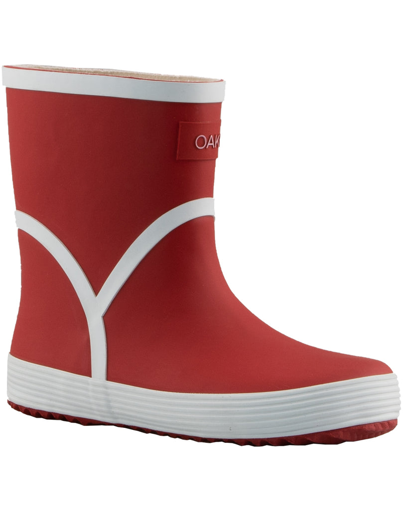 Red Euro Rain Boots