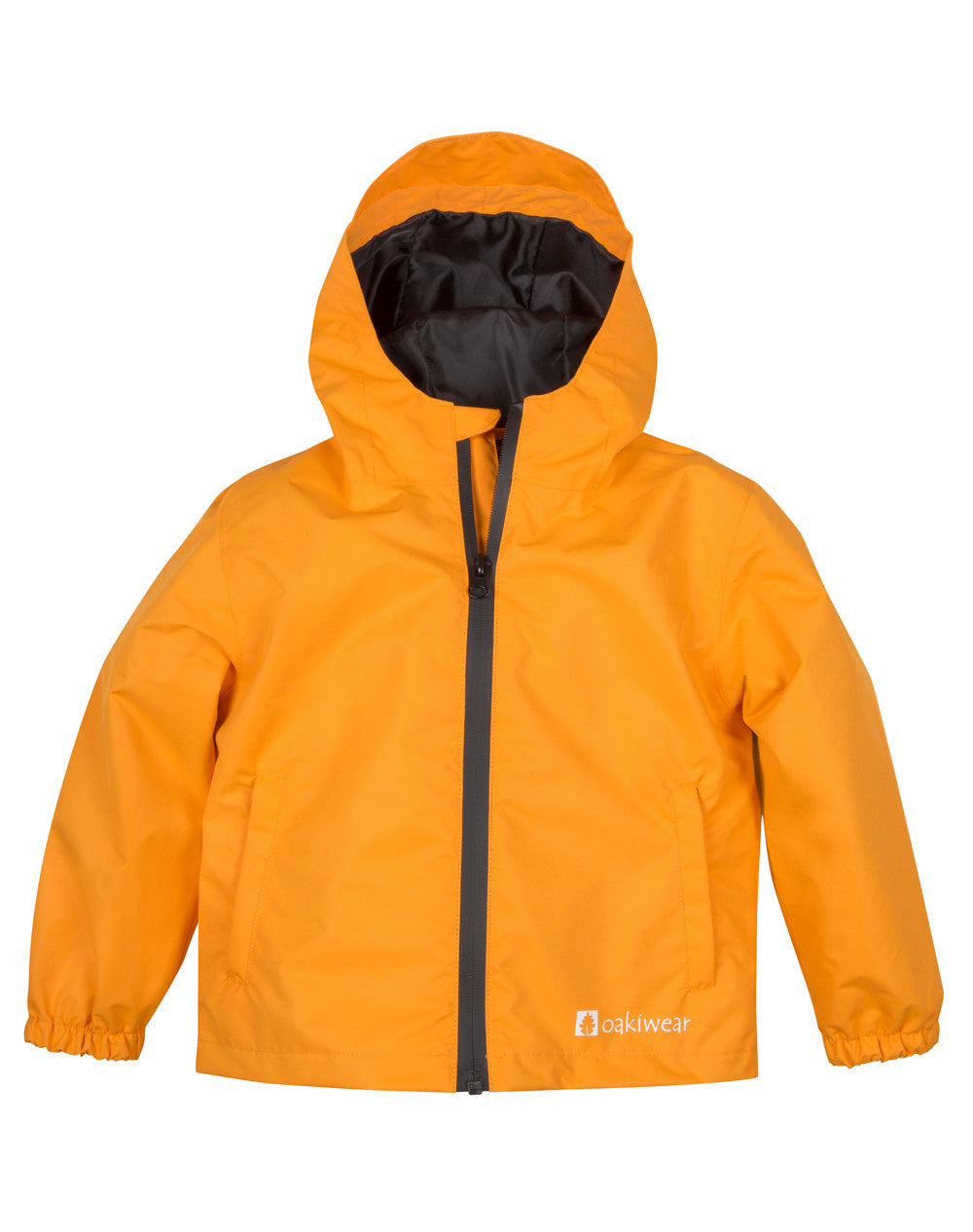 Core Rain Jacket, Lava Orange