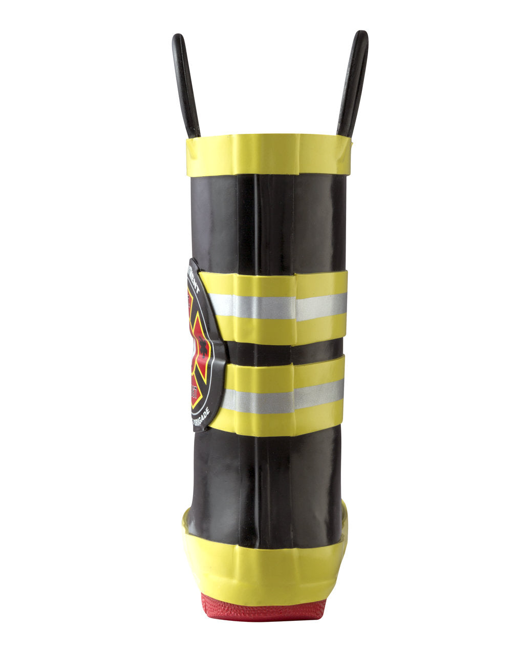 Fireman Rescue Loop Handle Rubber Rain Boots