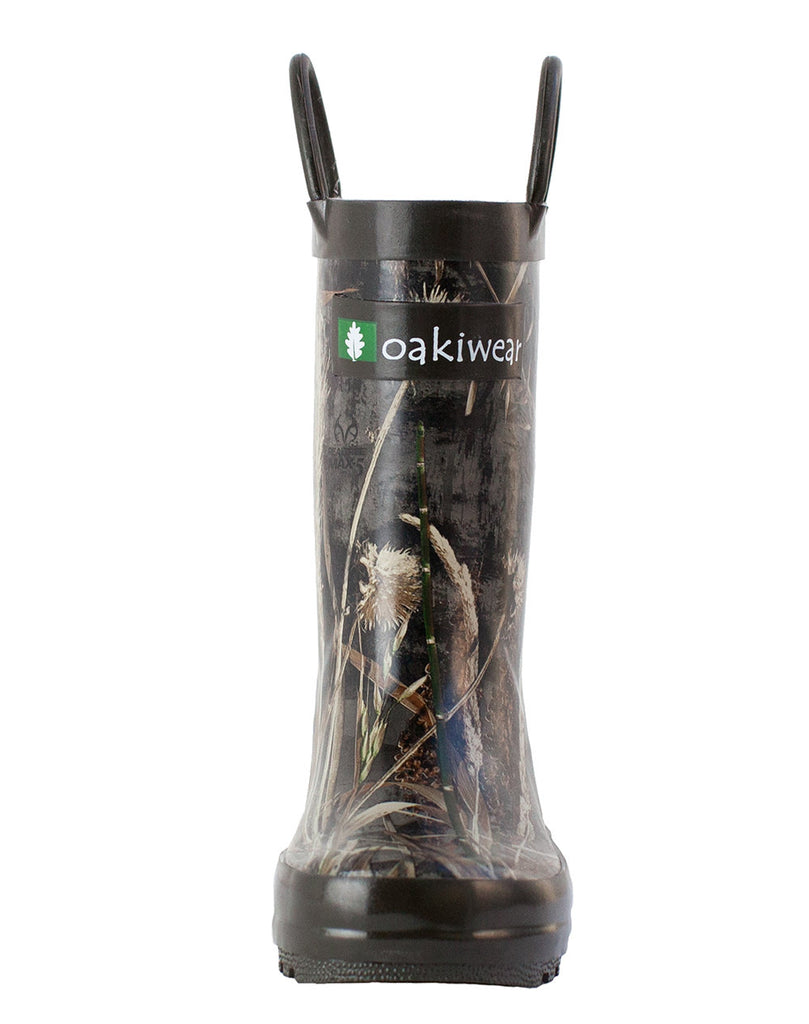 Realtree Max 5® Camo Loop Handle Rubber Rain Boots