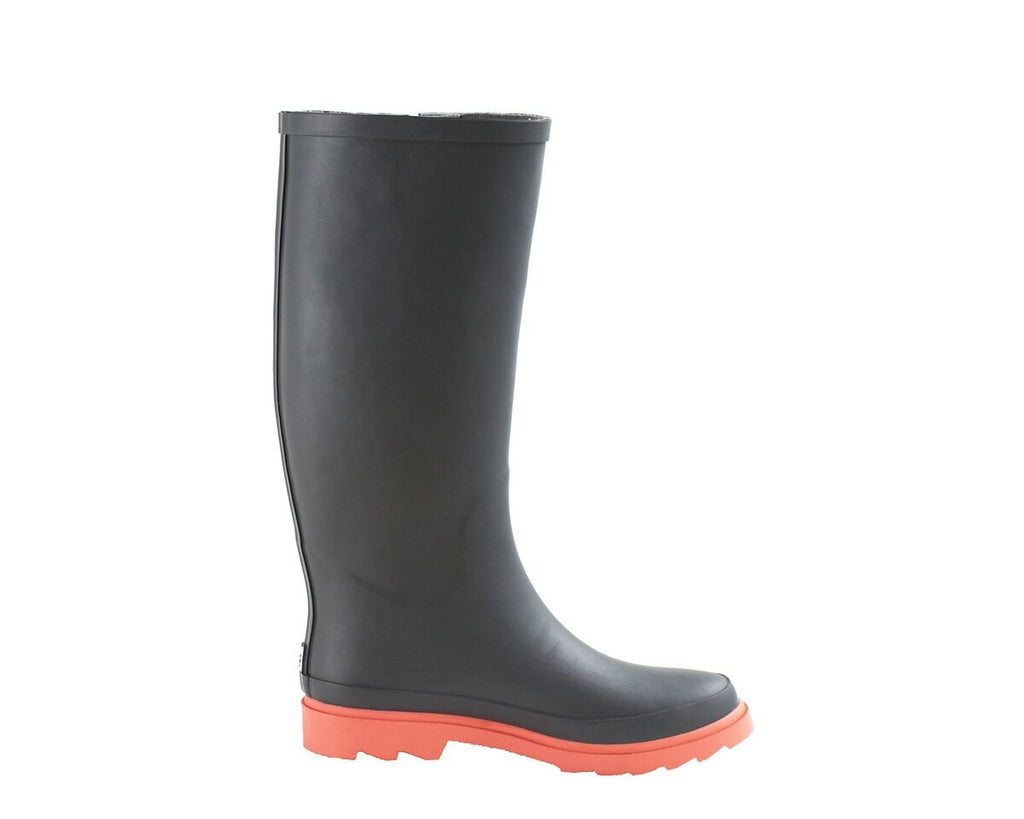 Women's Rain Boots - Oxbow Gray/Coral