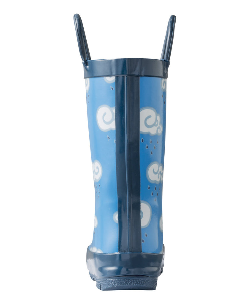 Clouds Loop Handle Rubber Rain Boots