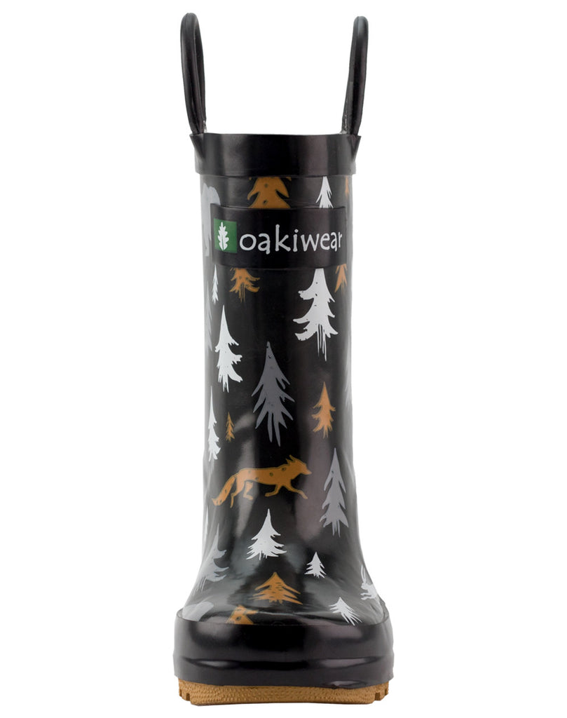 Wildlife Tracker Loop Handle Rubber Rain Boots