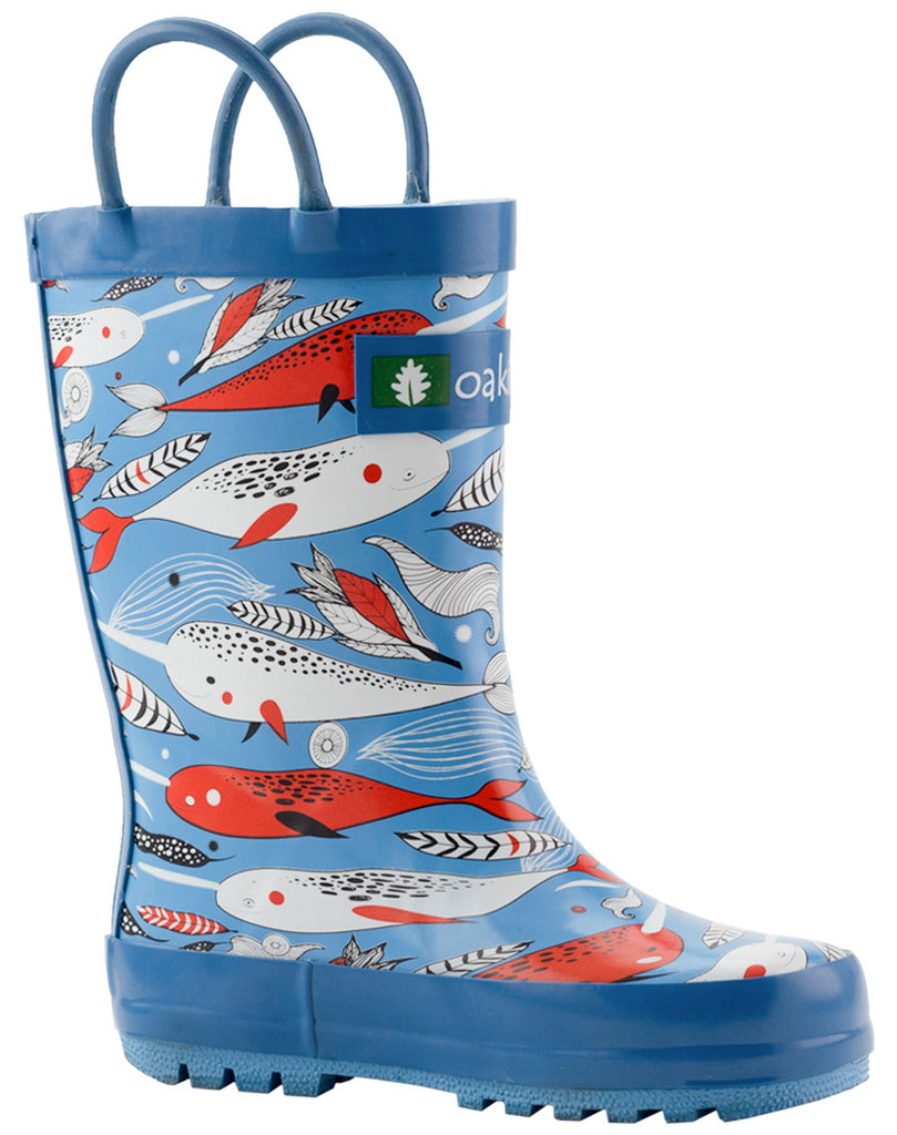Narwhals Loop Handle Rubber Rain Boots