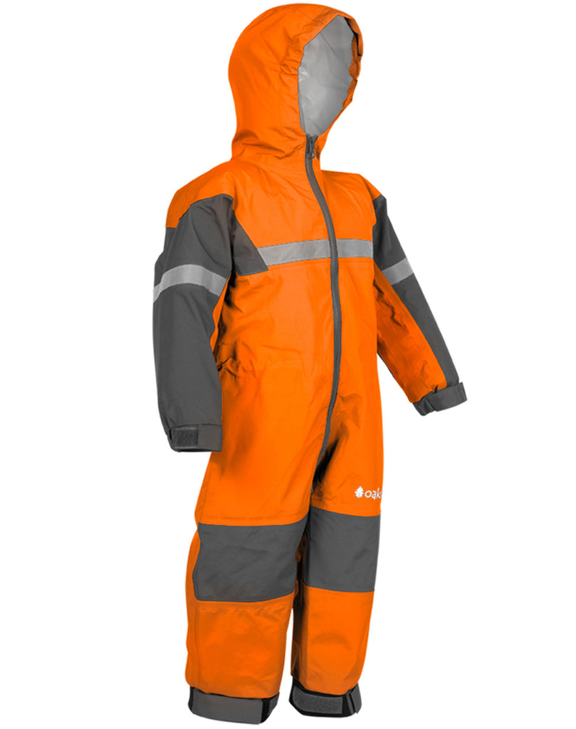 Classic Orange Trail One Piece Rain Suit