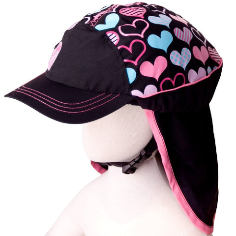Treadley Helmet Hats Hearts Bicycle Helmet Cover