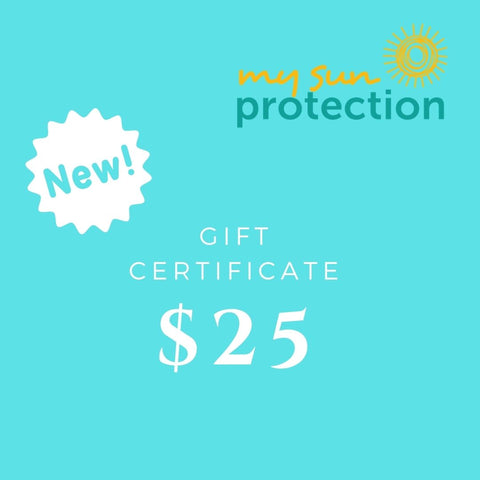 My Sun Protection Gift Cards