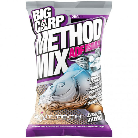 Bait-Tech Big Carp ADF Fishmeal Method Mix