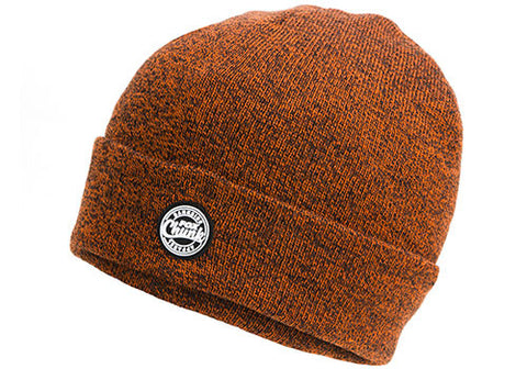 Fox Chunk Orange / Black Marl Beanie CPR759