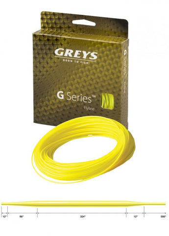 Greys G-Series Fly Line, Floating