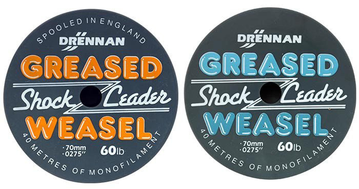 Drennan Greased Weasel Shock Leader