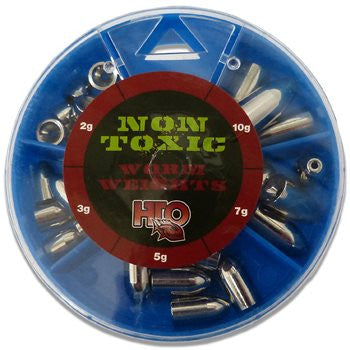 HTO Non Toxic Worm Weight Selection HWWM