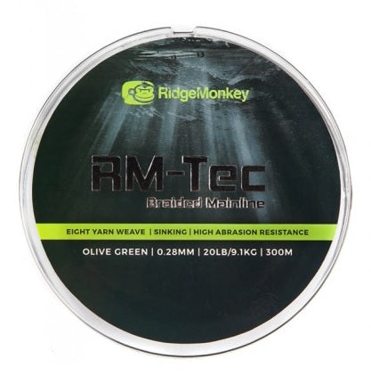 RidgeMonkey RM-Tec Braided Mainline