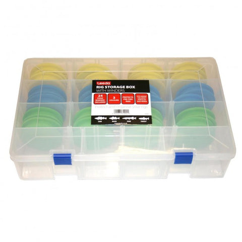 Leeda Rig Storage Box with Winders R2265