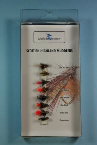 Caledonia Fly Company Scottish Highland Muddlers Selection