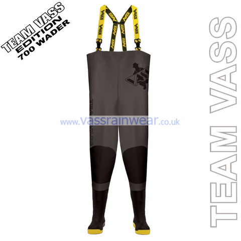 Vass 700 Team Vass Edition Heavy Duty Chest Wader with Reinforced Knees