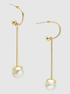 Dangle A Pearl Drop Earrings